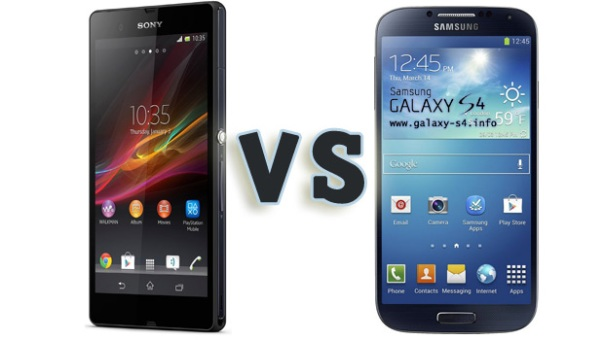 Galaxy-S4-vs-Sony-Xperia-Z